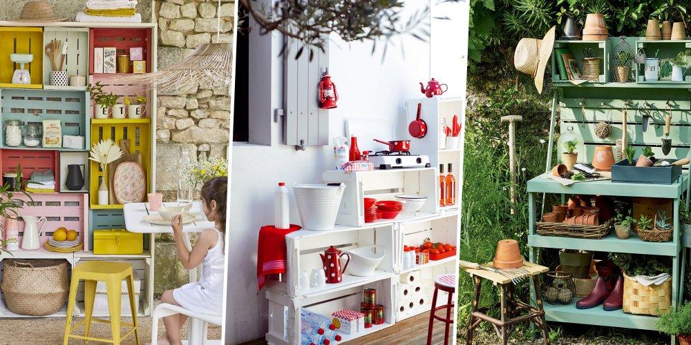 10 Bonnes Ides Pour Recycler Les Palettes Au Jardin Home