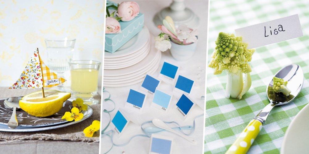 pour un anniversaire un mariage ou un repas de famille decouvrez nos 35 idees de marque places a faire soi meme