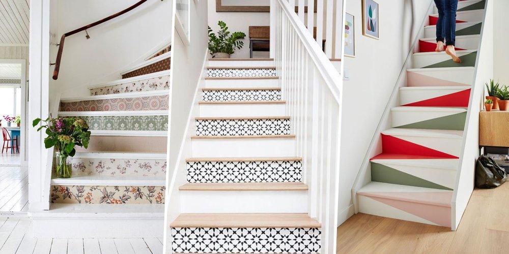 Comment Decorer Les Marches De Son Escalier Marie Claire