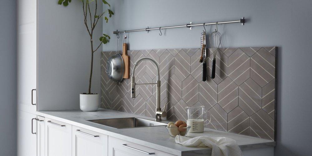 robinet de cuisine avec douchette