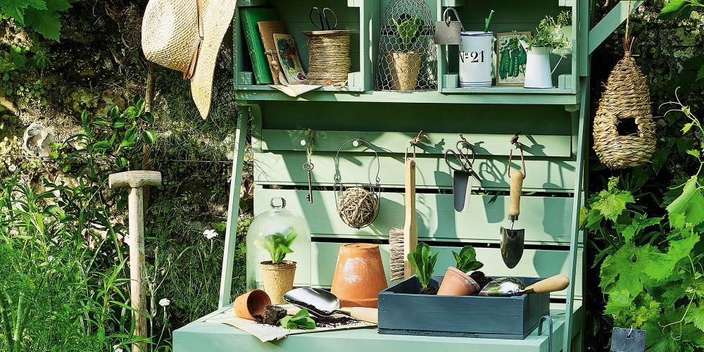 30 idees deco jardin en recup marie