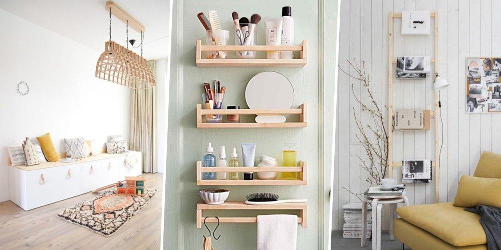 Ikea Hacks 15 Idées Pour Optimiser Son Intérieur Marie