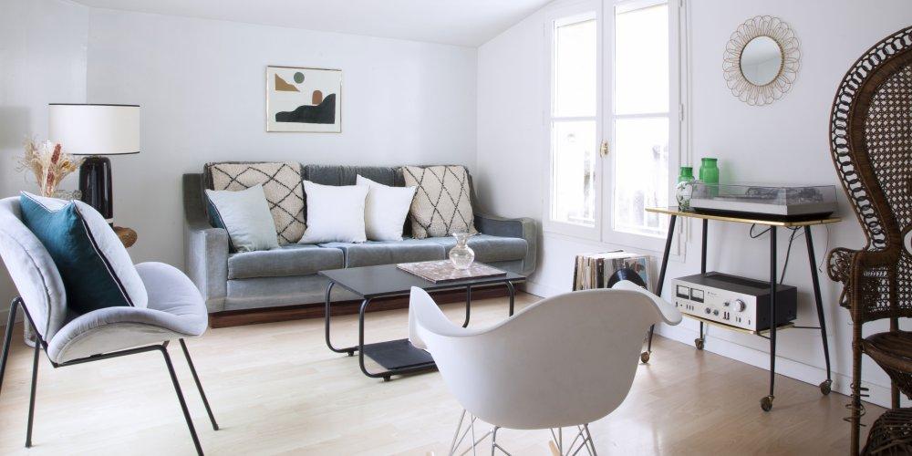 un appartement vintage avec terrasse a