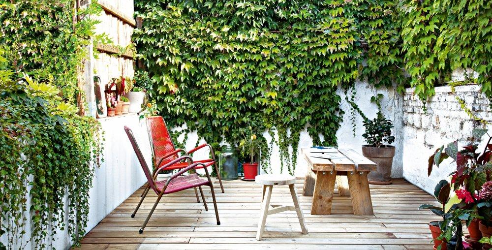 terrasse vegetalisee terrasse fleurie