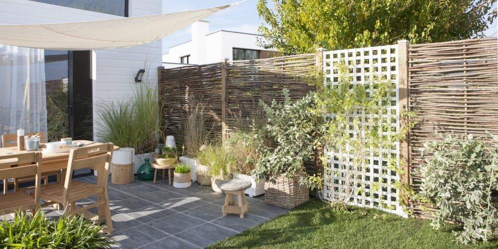 s isoler des voisins au jardin tous