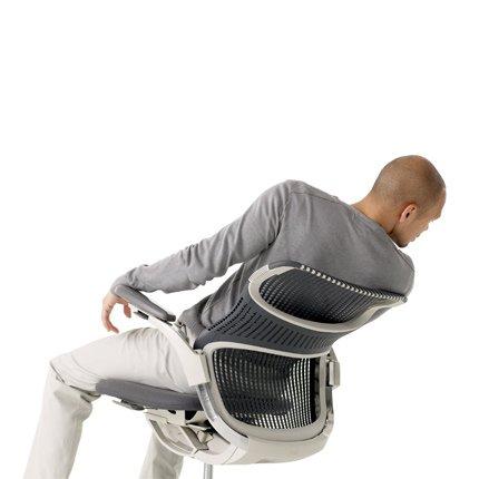 fauteuil generation de knoll avec dossier qui se plie sous le poids d un