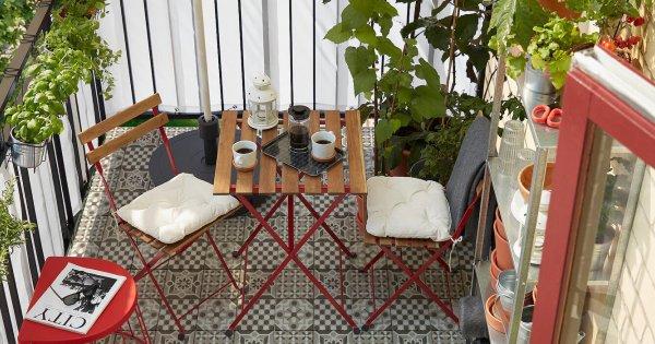 meuble de petit balcon notre