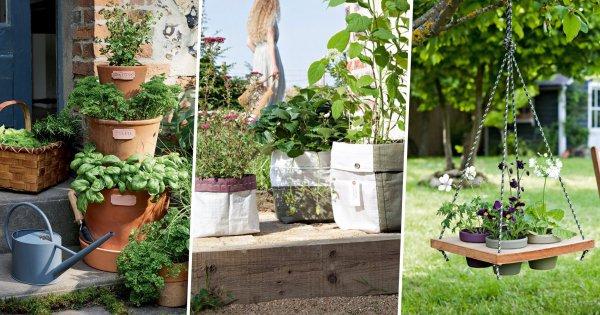 16 idees pour fabriquer une jardiniere