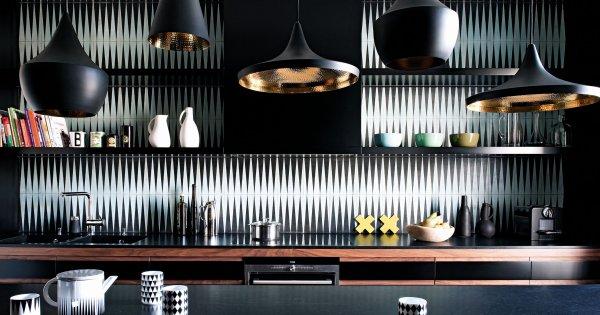 cuisine noire et blanches 25