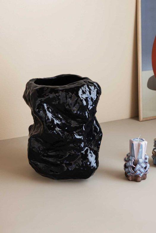 vase noir nordal