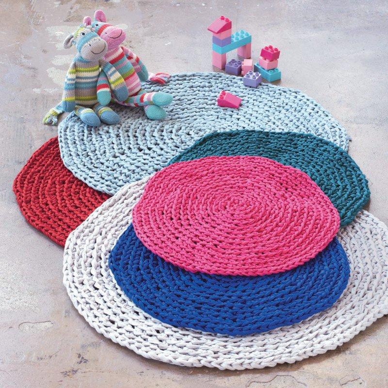 realiser un tapis au crochet marie claire