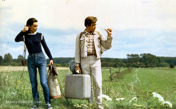 Two for the Road - Publicity still of Audrey Hepburn & Albert Finney