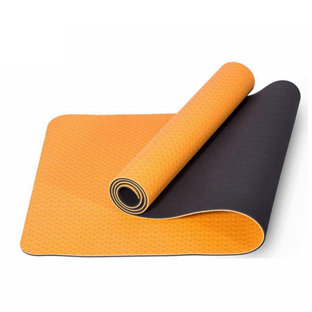 tapis de yoga antiderapant tpe 183x61x0