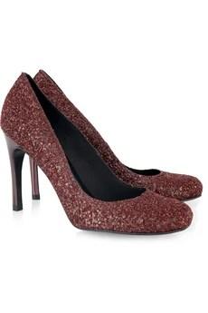 Pedro GarciaXio glitter heeled pumps.