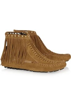 Jimmy Choo Zampa suede moccasin ankle boots £385