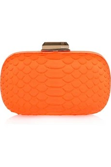 Emilio Pucci Python Skin Clutch from Net-A-Porter
