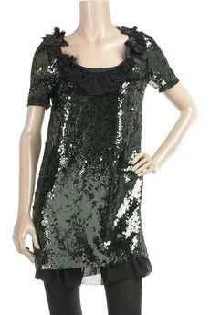 Hanii Y Sequin embellished dress Was £560   Now £392