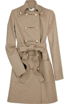 Stella McCartney Felt military coat £1,175