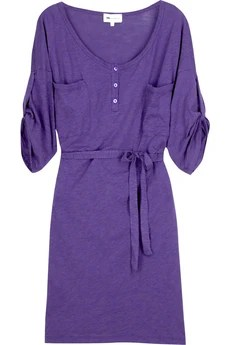 Vanessa Bruno Athé Cotton T-shirt dress