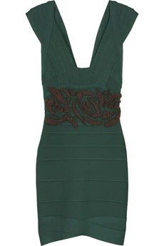 Hervé Léger Beaded bandage dress £1,325