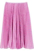 Jason Wu Micropleated knee length skirt