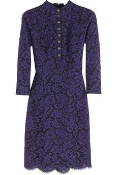 L'Wren Scott Layered lace dress