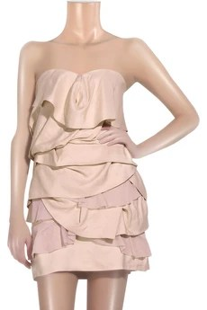 Camilla and Marc Elodi silk tiered dress