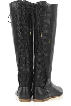 Sigerson Morrison Leather riding boots