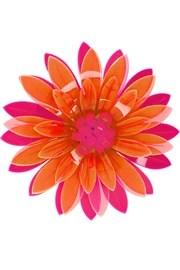 IssaBroche fleur en acrylique fluo Azalea