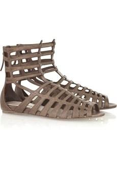 Miu MiuLeather gladiator sandals