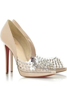 Christian Louboutin Engin 120 studded pumps