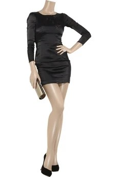 Helmut Lang Burnout body-con mini dress