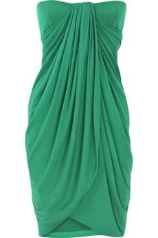 Giambattista Valli|Strapless drape silk dress|NET-A-PORTER.COM