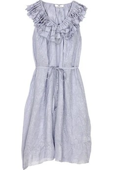 DAY Birger et Mikkelsen Volant ruffle-neck dress
