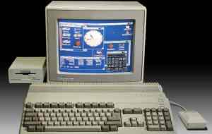 Chrome emula o Amiga 500, putador dos anos 1980