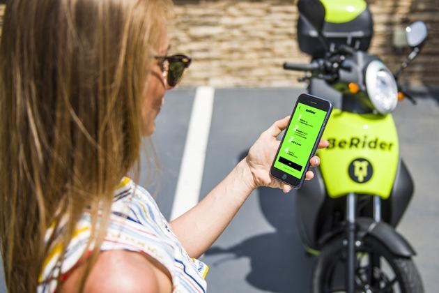 ,BeRider': SKODA AUTO DigiLab startet eScooter-Sharing in Prag