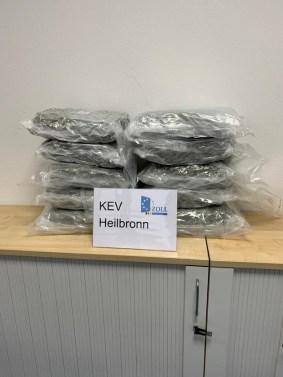 HZA-HN: Erfolgreich Drogenhandel unterbunden/ Zehn Kilo Marihuana sichergestellt