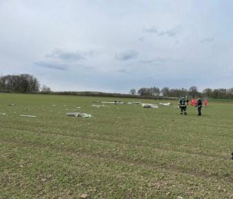 FW Horn-Bad Meinberg: Pilot bei Absturz eines Segelflugzeuges tödlich verunglückt