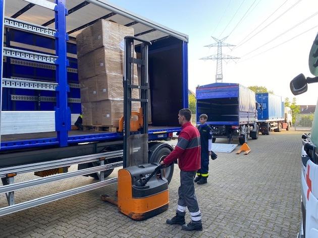 THW HH MV SH: THW: Hilfsgüter-Transporte für Lesbos
