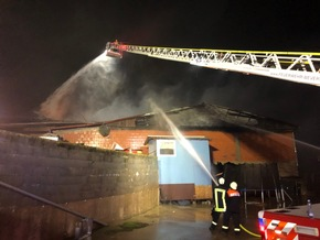 Brand in Borgholz
