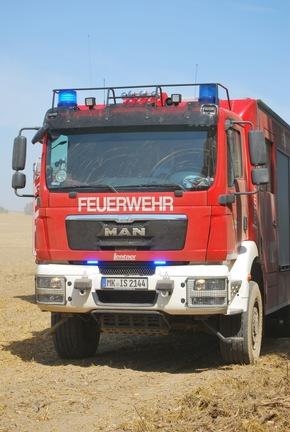 FW-MK: Erneuter Waldbrand in Drüpplingsen