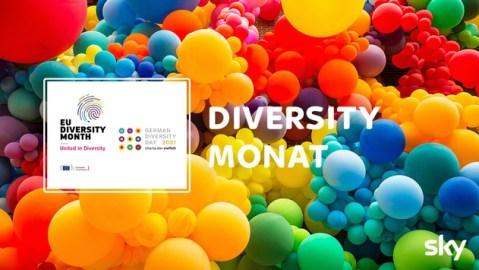 Wir sind bunt: Zum europäischen Diversity Monat setzt Sky mit einem vielfältigen Programm ein Zeichen für Diversity & Inclusion