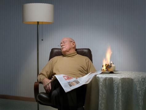Brandgefahr im Dezember besonders hoch – Senioren sind Hauptrisikogruppe