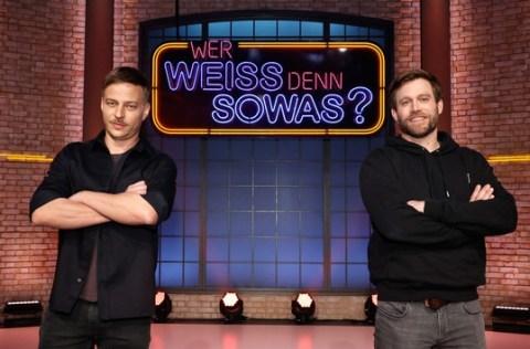 """Das Erste: """"Game of Thrones""""-Star Tom Wlaschiha und Ken Duken bei """"Wer weiß denn sowas?"""""""