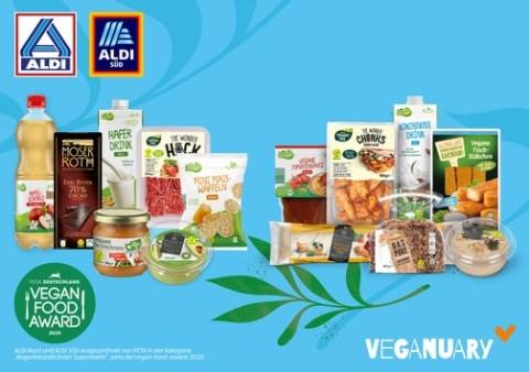Veganuary 2021: ALDI motiviert erneut zur veganen Ernährung