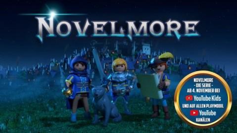 Ab heute auf YouTube: Playmobil-Serie Novelmore