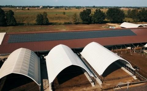 Agriturismo-Hof trägt mit Photovoltaikanlage zur Umsetzung der globalen Ziele für nachhaltige Entwicklung (SDG) bei