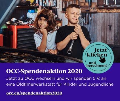Weil Oldtimer Jung und Alt begeistern / OCC spendet für Kinder- & Jugendprojekt