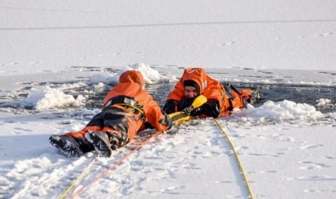Lebensgefahr: DLRG warnt vor Betreten von Eisflächen