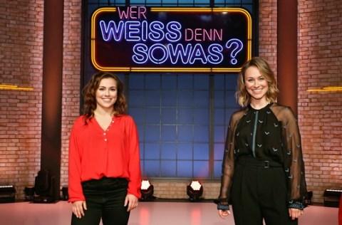 """Das Erste: Powerschwestern: Sina und Sarah Tkotsch bei """"Wer weiß denn sowas?"""" / Das Wissensquiz vom 3. bis 7. Mai 2021, um 18:00 Uhr im Ersten"""